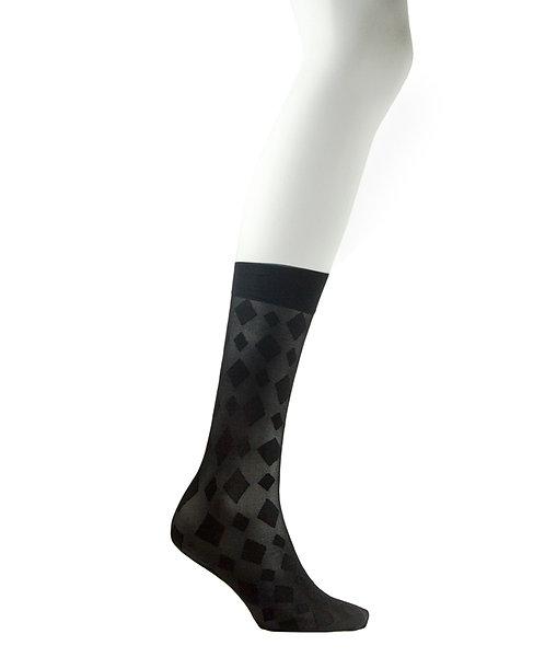 Knee High Socks - Double Diamond
