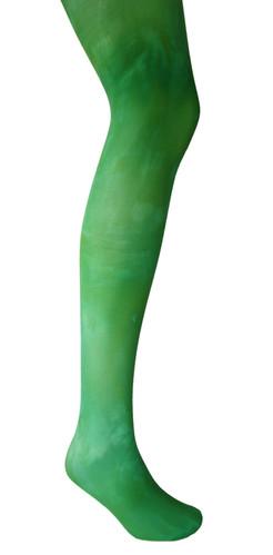 e8ecddce1044b Emerald green opaque tights. 40 denier Autumn style fashion.
