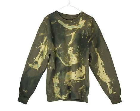 Tie dye sweatshirt, jumper, track suit, dip dye, acid wash, sweat, sweater, tracksuit, unisex, womens, mens, sportswear