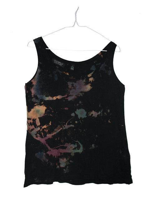 TENCEL LYOCELL & Organic COTTON tie dye Vest Top.