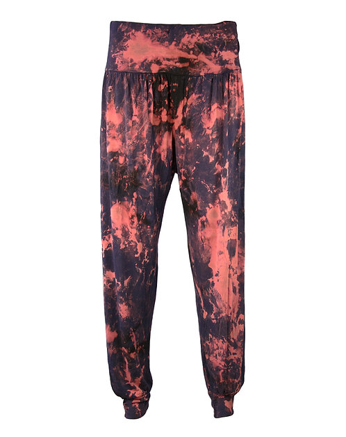 Harem Yoga Trousers, HAND DYED, DIP DYED, SLOUCHY, LOOSE FIT