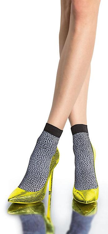 Ankle socks, pop socks, white, black, spot, spotty, dot, dotty, pattern, party, christmas outfit