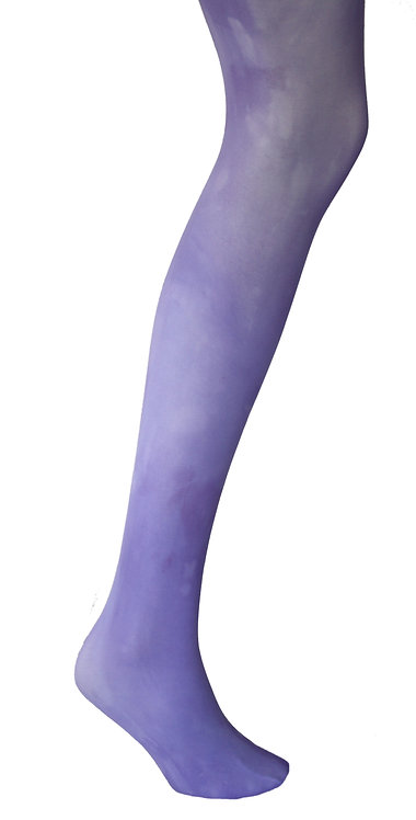 Lilac lavender purple opaque tights.  40 denier Autumn style fashion.