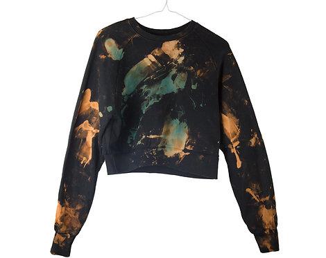 Cropped Raglan ORGANIC COTTON Sweatshirt