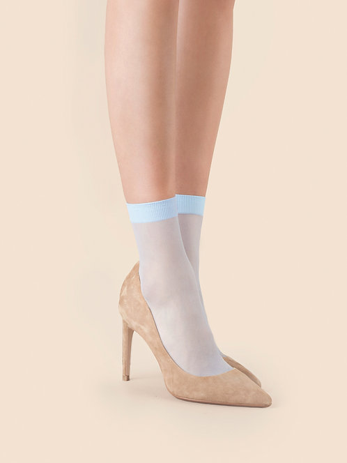 blue pastel ankle socks, so sweet, fiore, tights, hosiery, sheer, pop socks, feminine, delicate, cute, soft