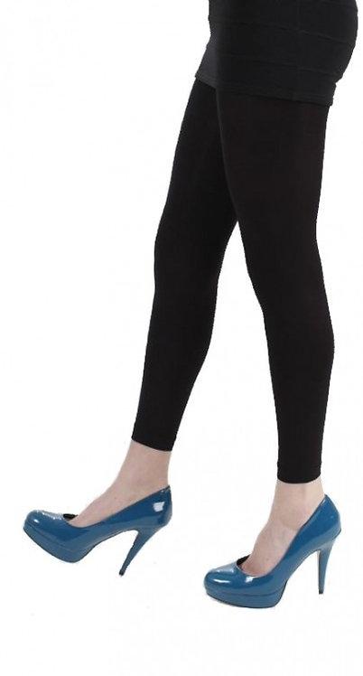 Black Pamela Mann Footless tights, opaque leggings, pantyhose, halloween, cosplay cos play, costume fancy dress.