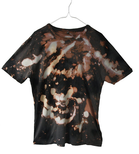 Hand dyed, tie dye, dip dyed, bamboo tshirt, t shirt, t-shirt, fair trade, fair wear, eco friendly, sustainable, NEBULA SPACE
