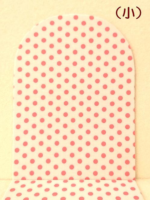(小)イス :白*ピンク
