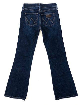 Girls' Flared Bootcut Premium Patch Wrangler Jeans Size: 12R