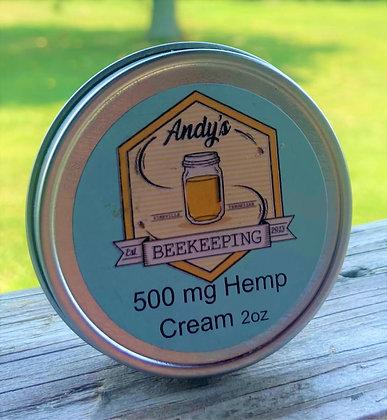 2oz 500mg Full Spectrum Hemp Cream