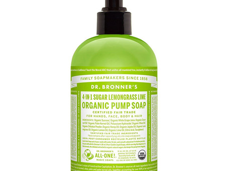Liquid Lemongrass Hand Soap