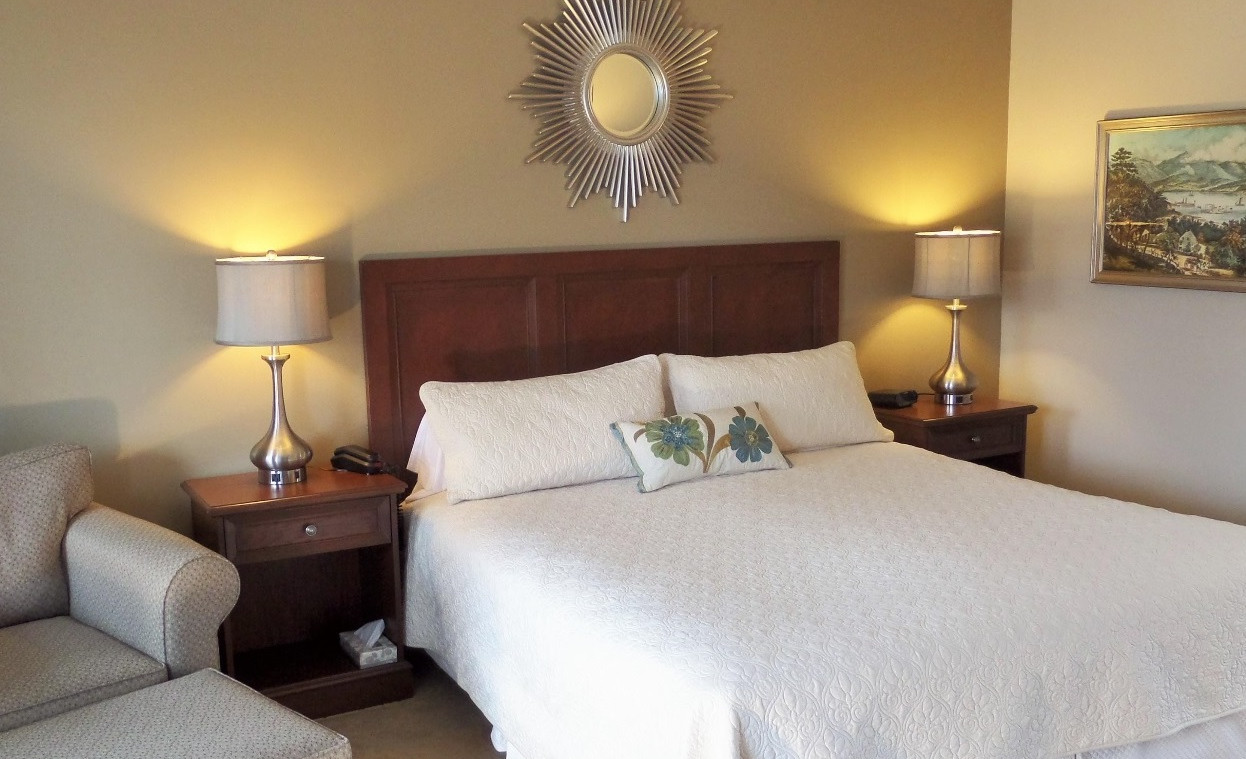Deluxe King room, Upstairs