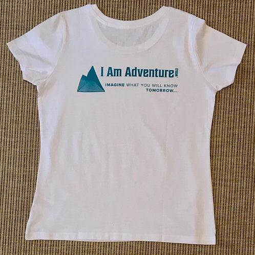 Women's I Am Adventure t-shirts