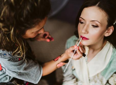 Wedding Makeup at Clevedon Hall