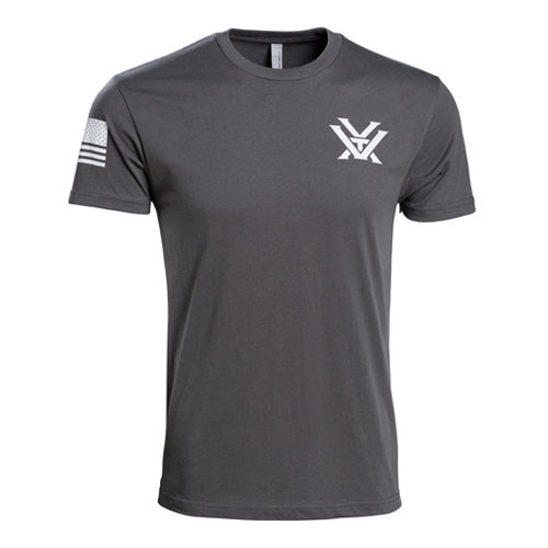 Mens Grey Patriot T-Shirt