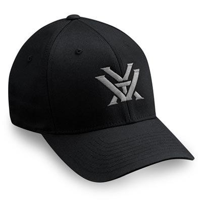 Vortex Black FlexFit with Grey Logo | Small and Medium
