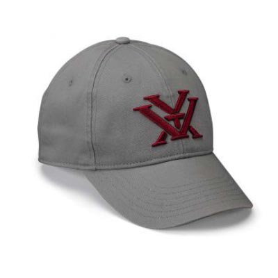 Vortex Ladies Grey with Maroon Logo