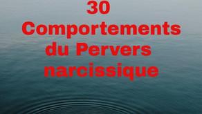 Vidéo : 30 comportements du pervers narcissique
