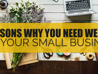 6 Reasons Why You Need Website For your small business.