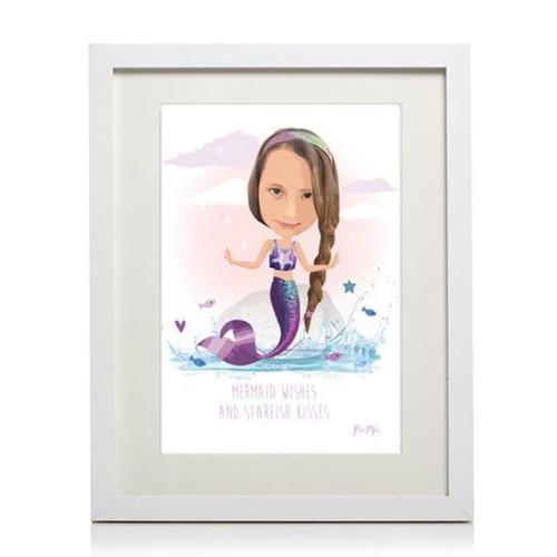 Pic Me Personalised Mermaid Frame
