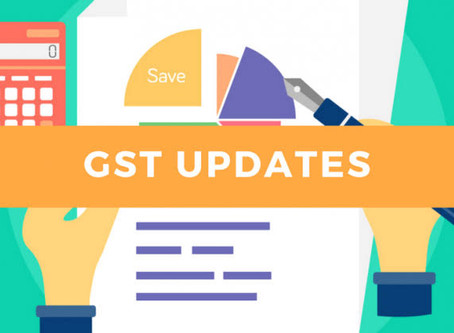 40th GST Council Meeting Update dated 12 June 2020