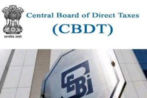 Memorandum of Understanding (MoU) between CBDT and SEBI signed on 08/07/2020