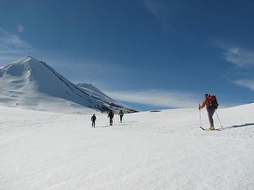 Ski touring malalcahuelo Chile
