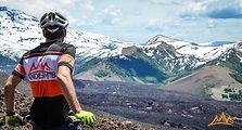Chile mountain biking lonquimay