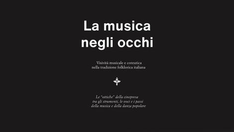 La musica negli occhi