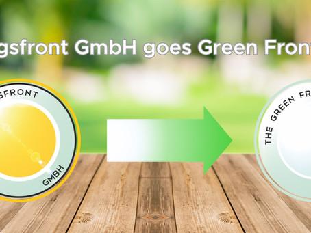 """""""Die Reinigungsfront GmbH"""" wird zur """"Green Front GmbH"""""""