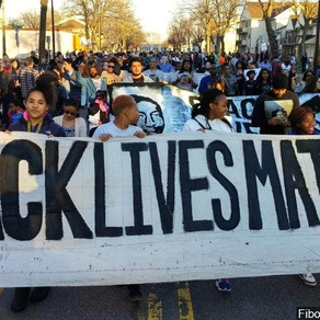 Black Lives Matter. Standing With Our Community.