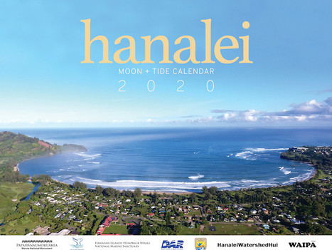 Hanalei Moon and Tide Calendar