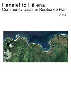 Hanalei to Haena Community Disaster Resilience Plan