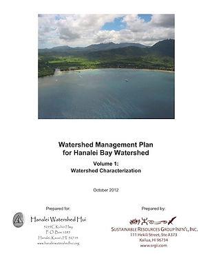 Watershed Management Plan Vol. 1
