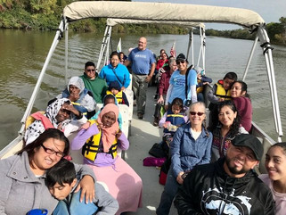 ANS Partnership Takes CHEER to the River