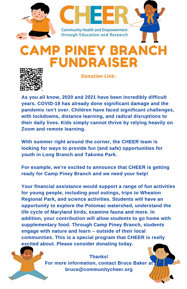 Copy of 2021 Camp Piney Branch Fundraise
