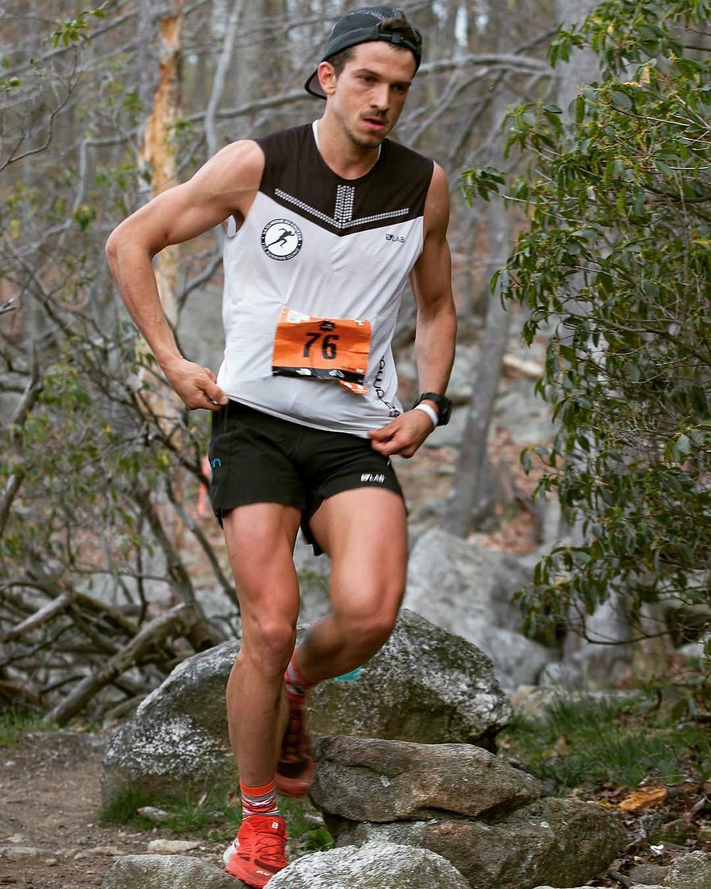 trail run running course