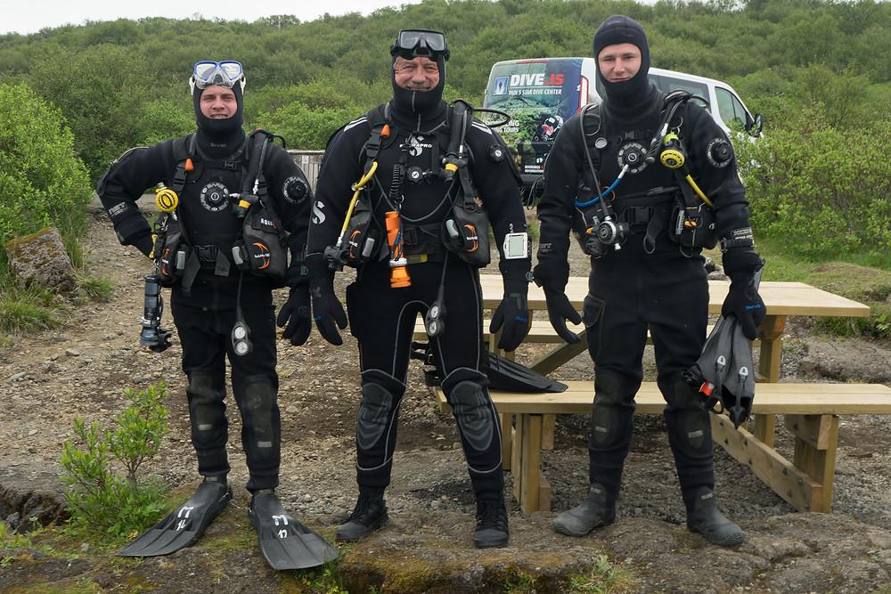 plongée diving islande silfra underwater
