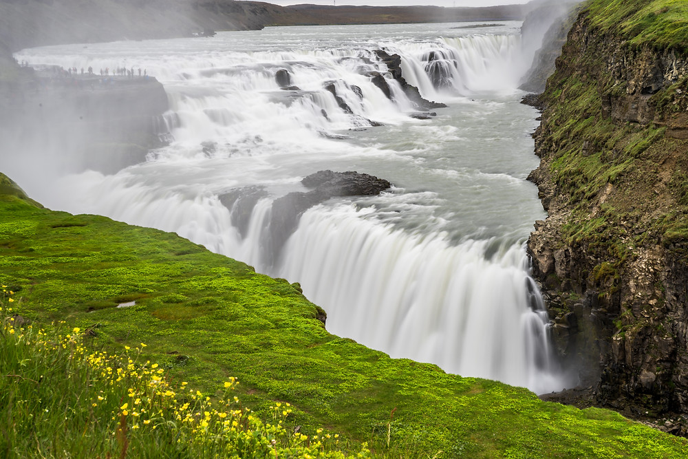 cascade waterfall islande