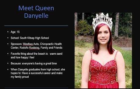 2020 Fathoms O Fun Queen Danyelle