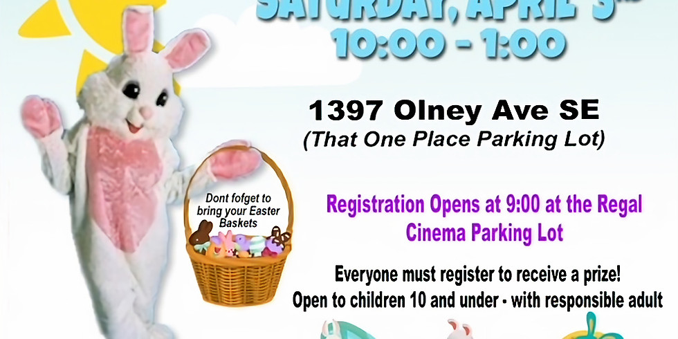 Easter Candy Lane Crawl & Mustang Club Car Show