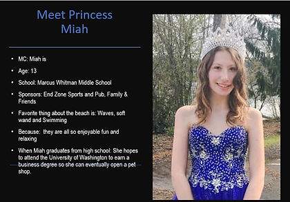 2020 Fathoms O Fun Princess Miah