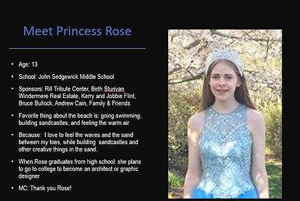 2020 Fathoms O Fun Princess Rose