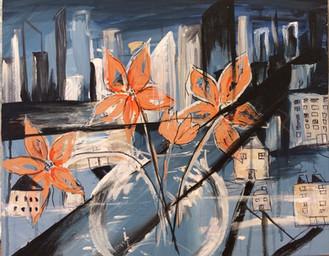 City Reflections (16x20)