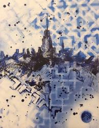 A City Dream (14x11)