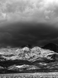 Storm Clouds Over Grapevine Mountains