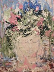 The Elegent Lady (16x12)