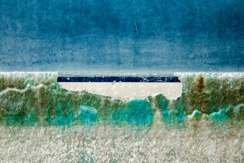 Arctic Shore Beyond the Glacier III