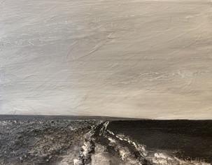 Grayscale Seascape (11x14)