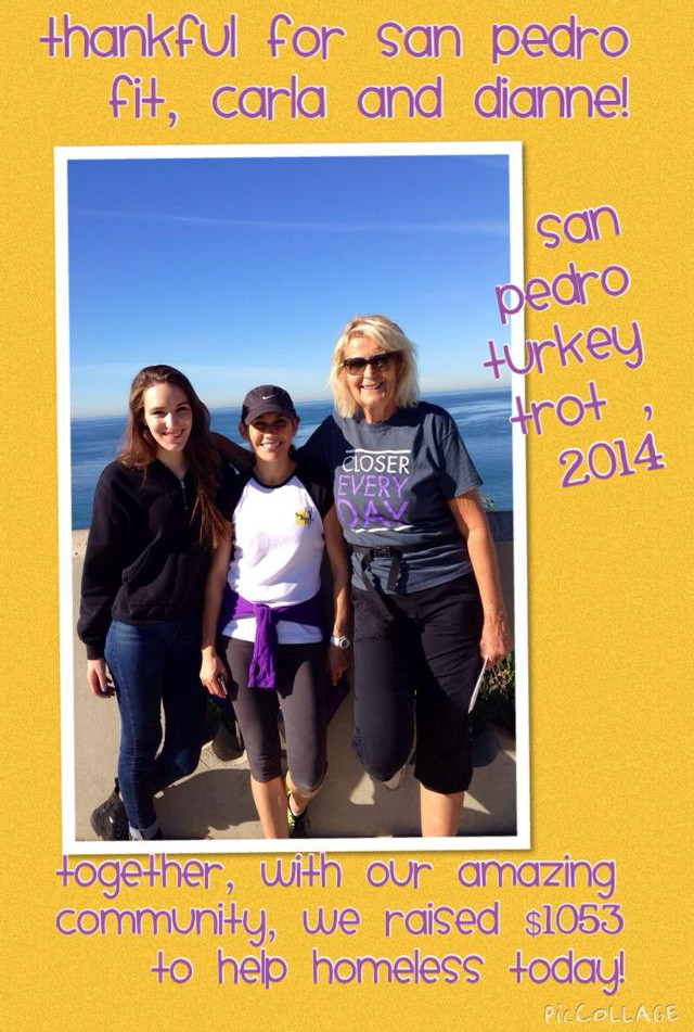Carla and Dianne of San Pedro Fit and Happily Hiking